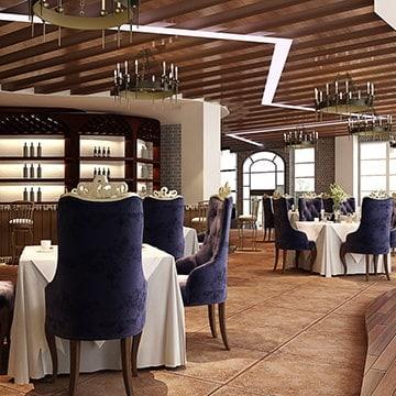 oswietlenie restauracji
