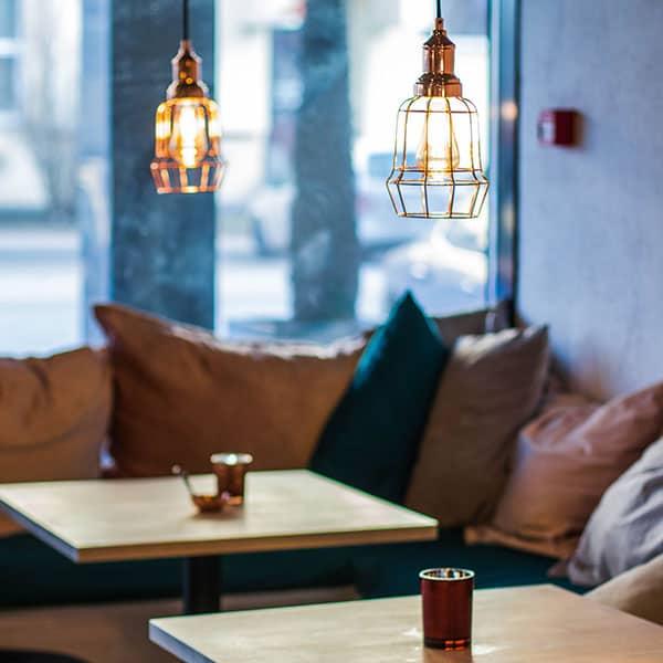 Oświetlenie restauracji